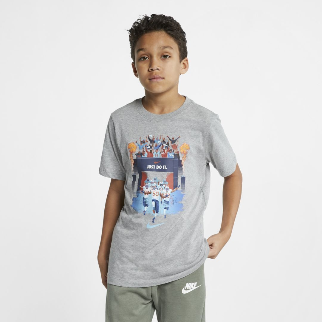 ebe49de5e4a Nike Sportswear Big Kids  (Boys ) T-Shirt Size XL (Dark Grey Heather ...
