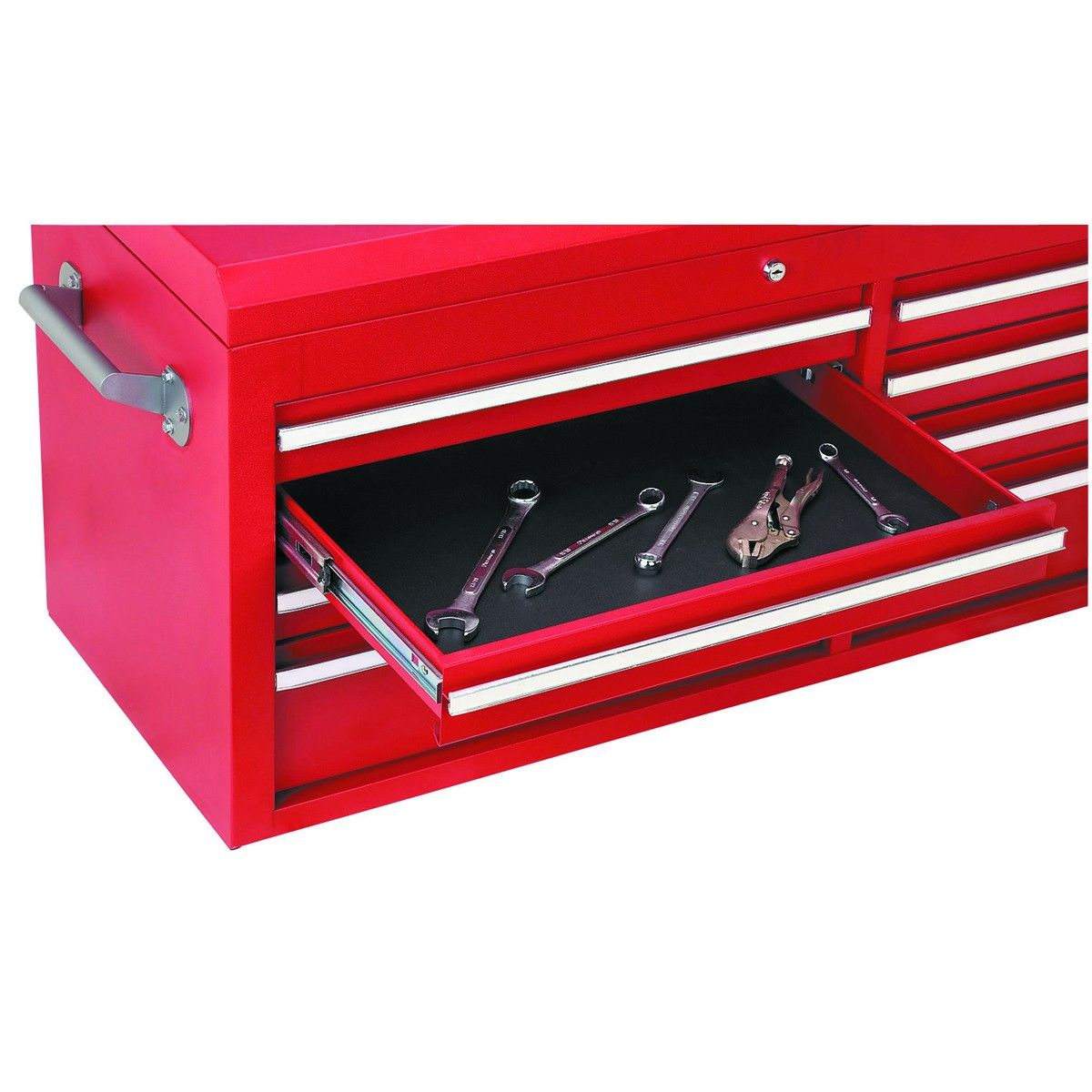 16 In x 22 In Nonslip Drawer Liner Solid Tool box