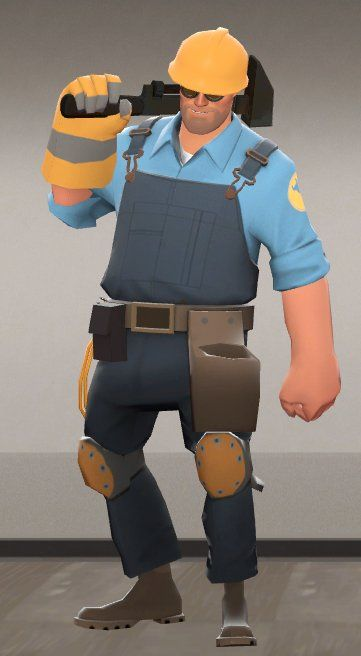 New Class The Builder Engineer Team Fortress 2 Engineer Team