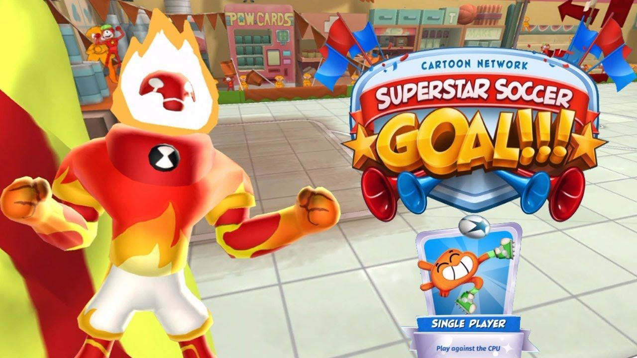 Cn Superstar Soccer Goal Heatblast Team Win Mode Single Player Game Soccer Goal Single Player Soccer