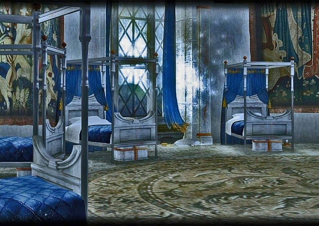 Ravenclaw Schlafsaal Harry Potter Ravenclaw, Ravenclaw