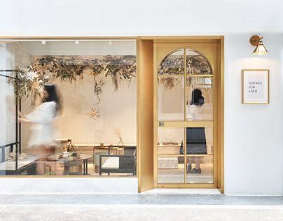 Dsen dry salon restaurant design pinterest salons