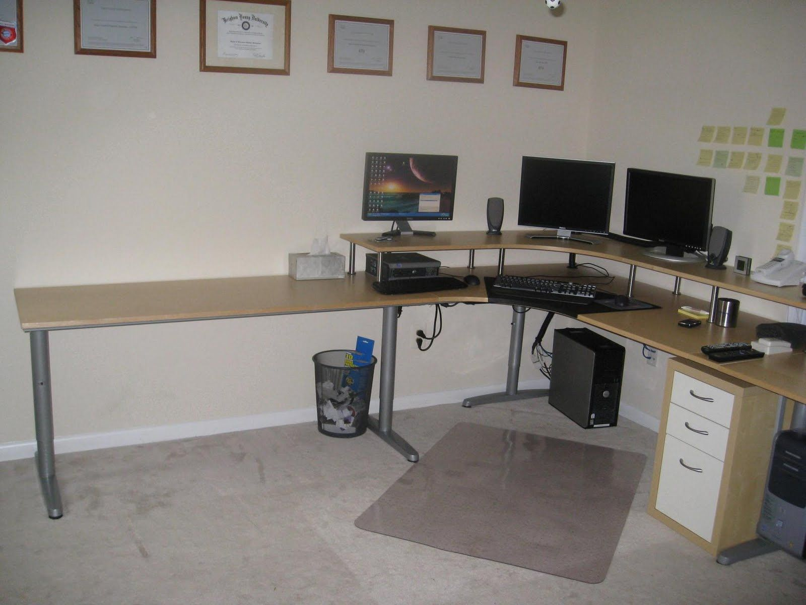 Build Your Own Desk Galant Furniture Inspiration