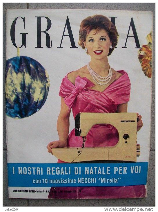 Grazia Rivista Di Moda Italiana 15 11 1957 Moda Italiana Rivista Di Moda Di Moda
