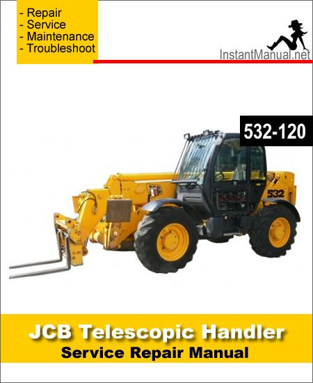 Download JCB 532-120 Telescopic Handler Service Repair ... on