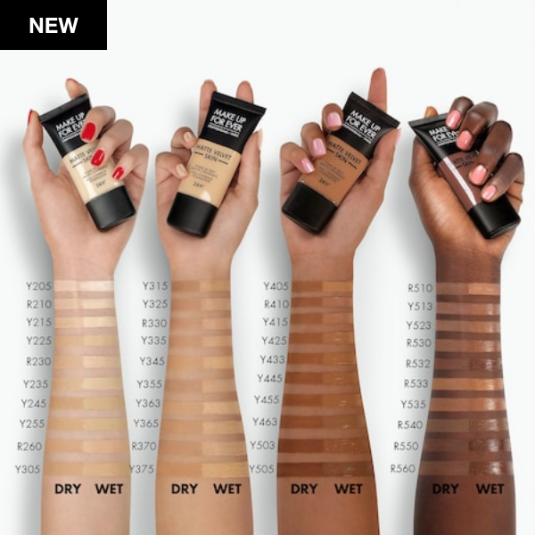 Screenshot ⁨Matte Velvet Skin Full Coverage Foundation