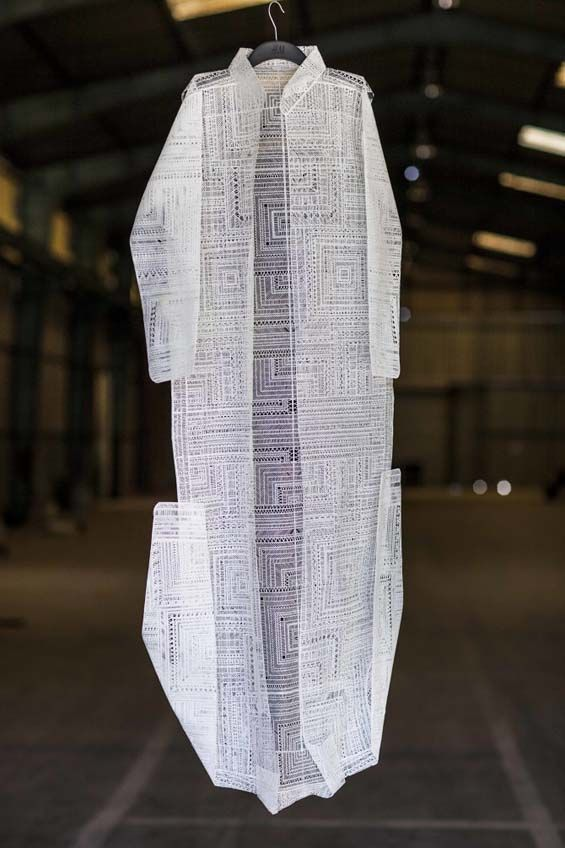 Stratis Tavlaridis Constructs Ethereal, Geometric Clothing Out Of Cut Paper