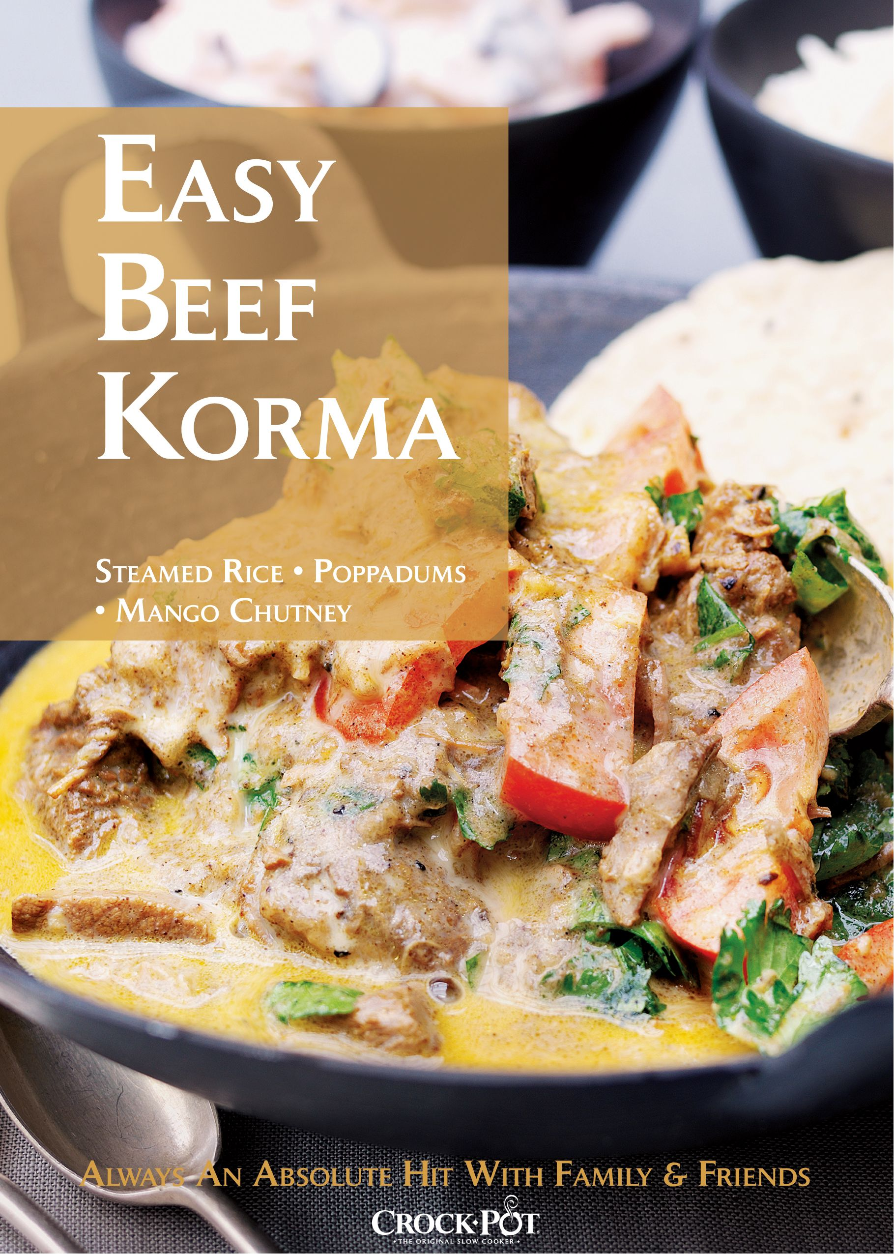Easy indian beef korma curry in a crock pot slow cooker an absolute easy indian beef korma curry in a crock pot slow cooker an absolute hit forumfinder Image collections