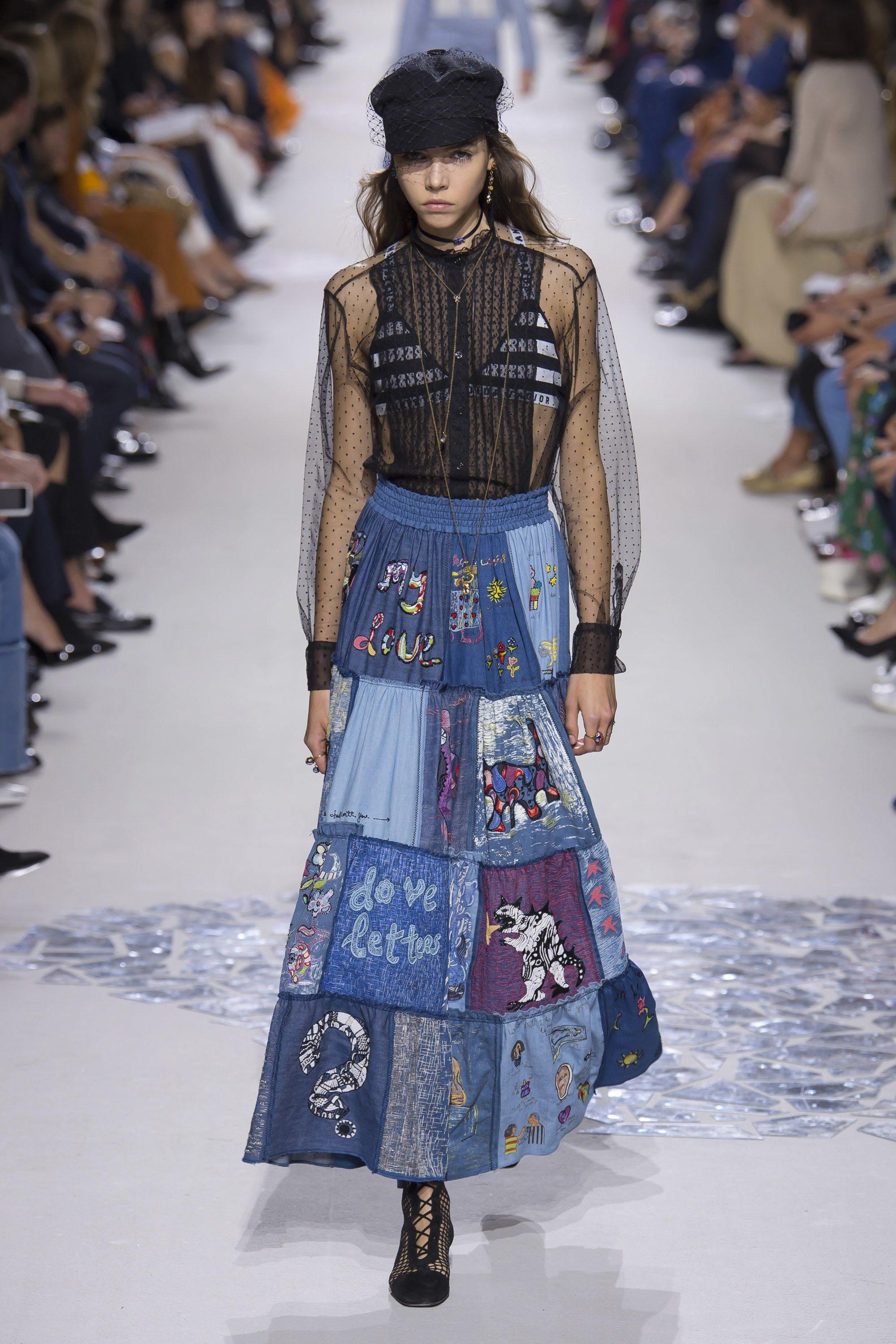 Dior christian spring ready-to-wear fashion show photos