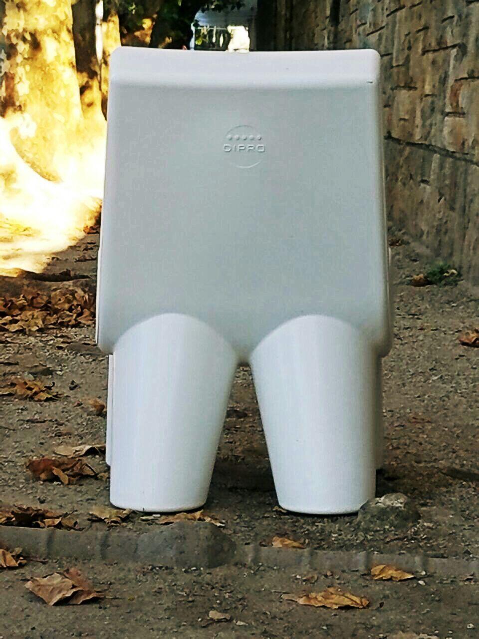White Elephant Back Side Sillon Rotomoldeado Colecci N De Dipro  # Muebles Rotomoldeados