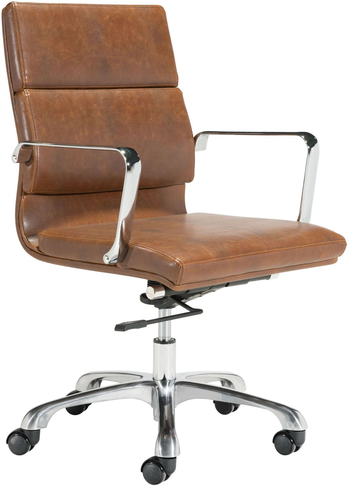 Ithaca Vintage Brown Office Chair Adjustable office