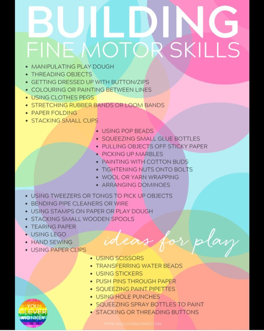 Occupational Therapy Abc On Instagram Fine Motor Skill Activities Preschool Fine Motor Skills Preschool Fine Motor Activities Fine Motor Skills Activities