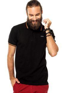 Camisa Polo Colcci Preta  302d3de54c86e