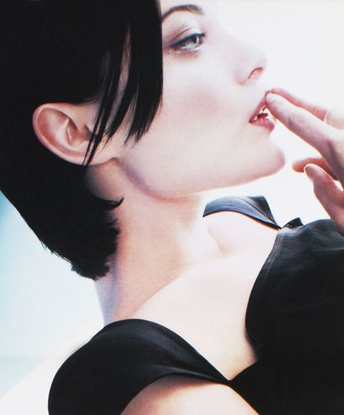 Shalom Harlow by Craig McDean for Jil Sander S/S 1995