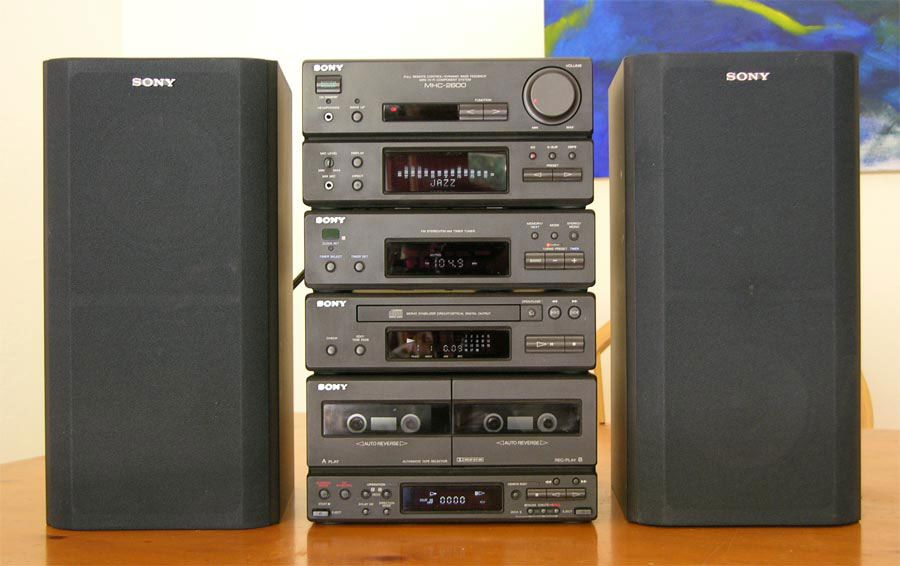 Sony Mhc 2200 Google Search Awesome Sony Technology