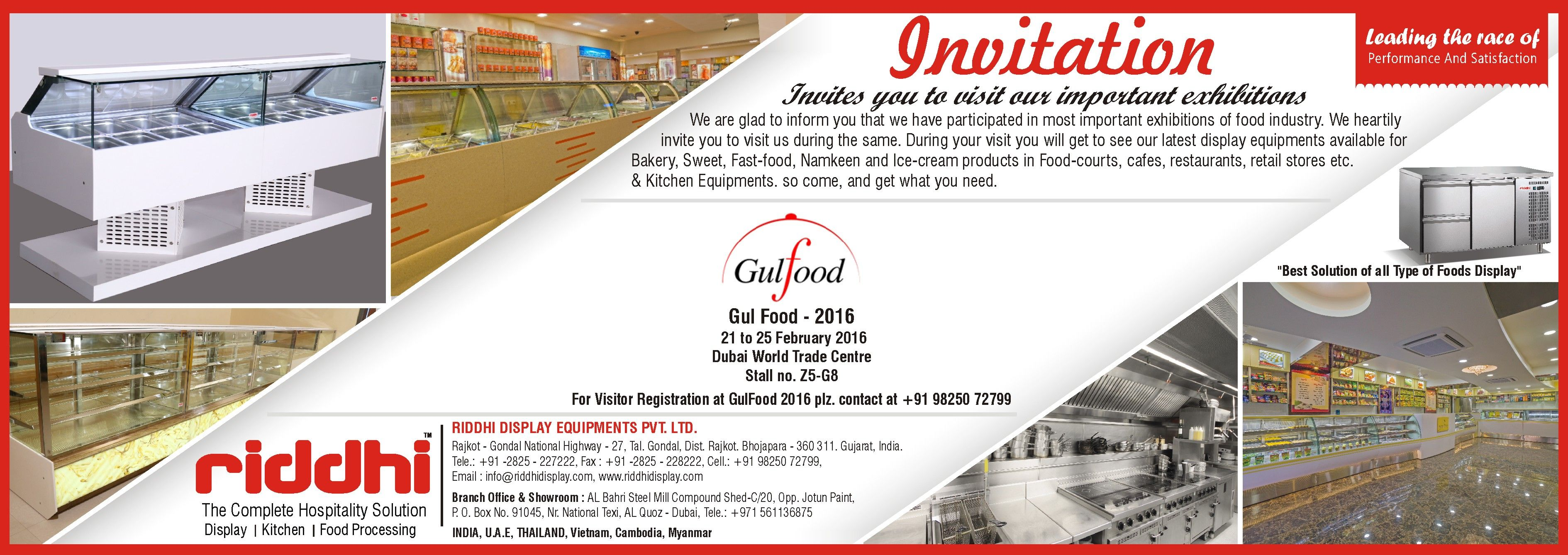 We are cordially invite you to visit your stall at gulfood 2016 we are cordially invite you to visit your stall at gulfood 2016 on stopboris Images