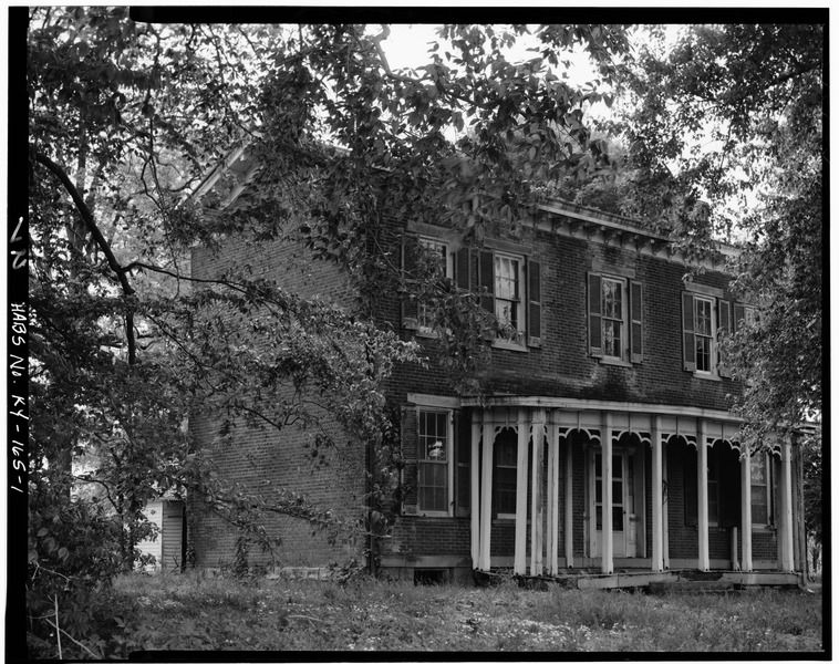 File North Front Fred Carr House State Route 8 Vanceburg