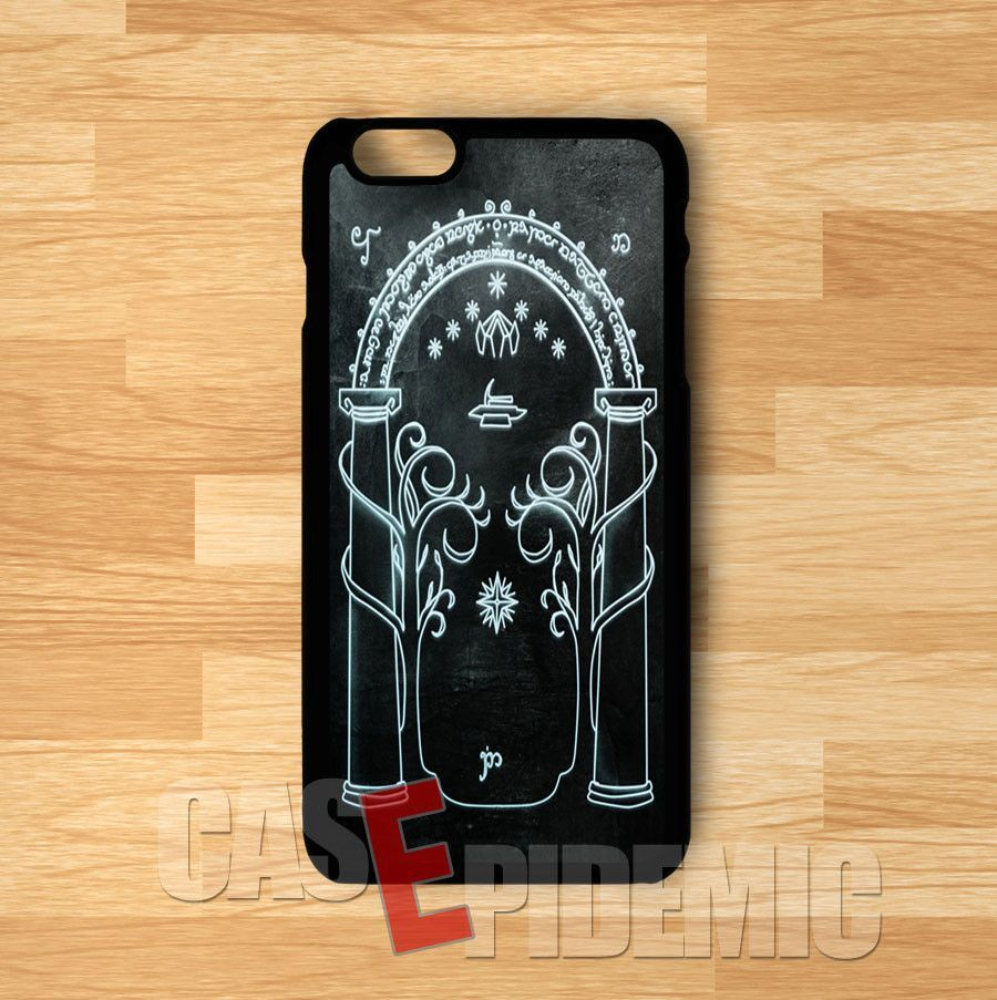 Dark Gate Moria Lord Of The Rings -11y for iPhone 4/4S/5/5S/5C/6/ 6+,samsung S3/S4/S5/S6 Regular,samsung note 3/4