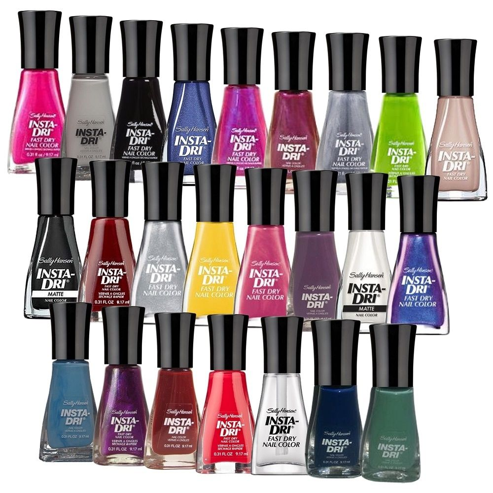 Sally Hansen Insta Dri Finger 24-piece Surprise Nail Polish | Nail ...