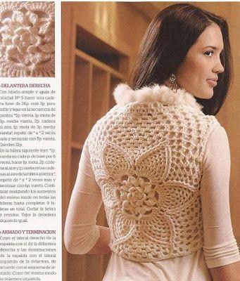 Colete - Croche