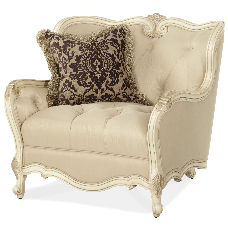 Michael Amini Lavelle Chair and a Half | Wayfair | apartment :3 ...