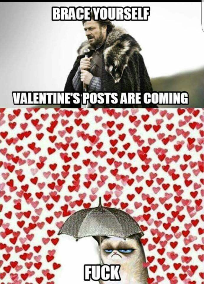Brace Yourself For Valentine\'s Posts | Love it! | Pinterest ...