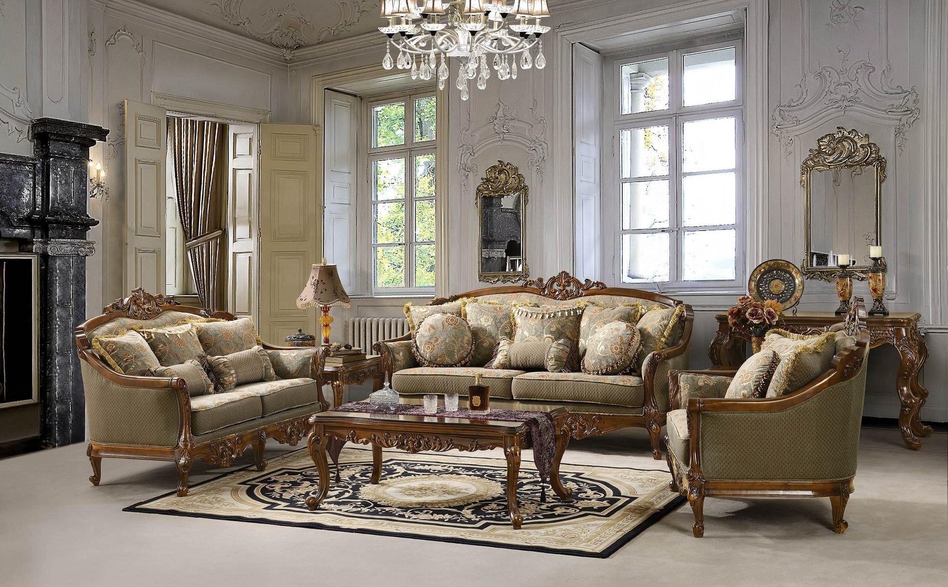 Antique Living Room Designs Fall In Love With Vintage And Victorian Style Design  Home Decor