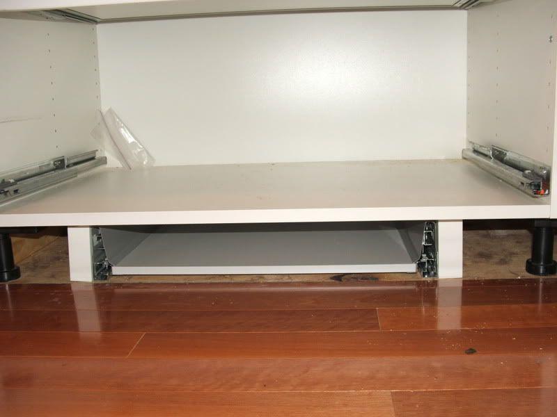 Toe Kick Drawer Mod Successful IKEA FANS cool kitchens