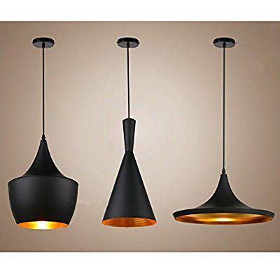 Moderne Industrie beleuchtung Metall Schatten Loft Pendelleuchte - deckenlampen für küchen