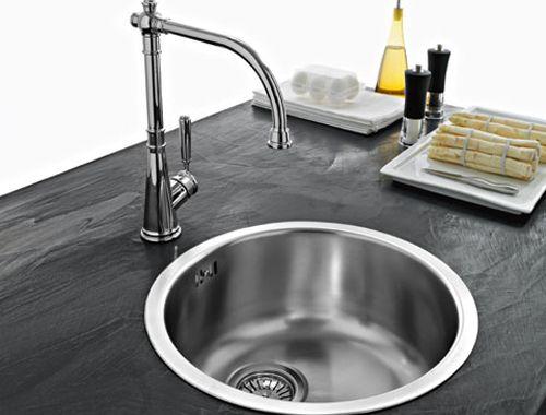 lavello cucina tondo in #acciaio inox satinato #Franke #Rox610 ...
