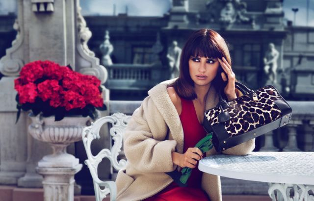 Penélope Cruz returns for the Loewe Fall 2013 Campaign, photographed by Mert & Marcus