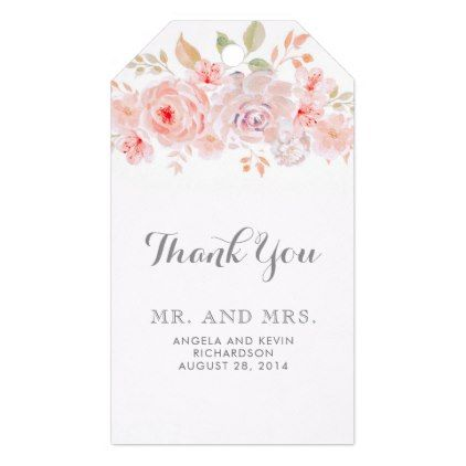 pink floral elegant gift tags in 2018 home gifts pinterest