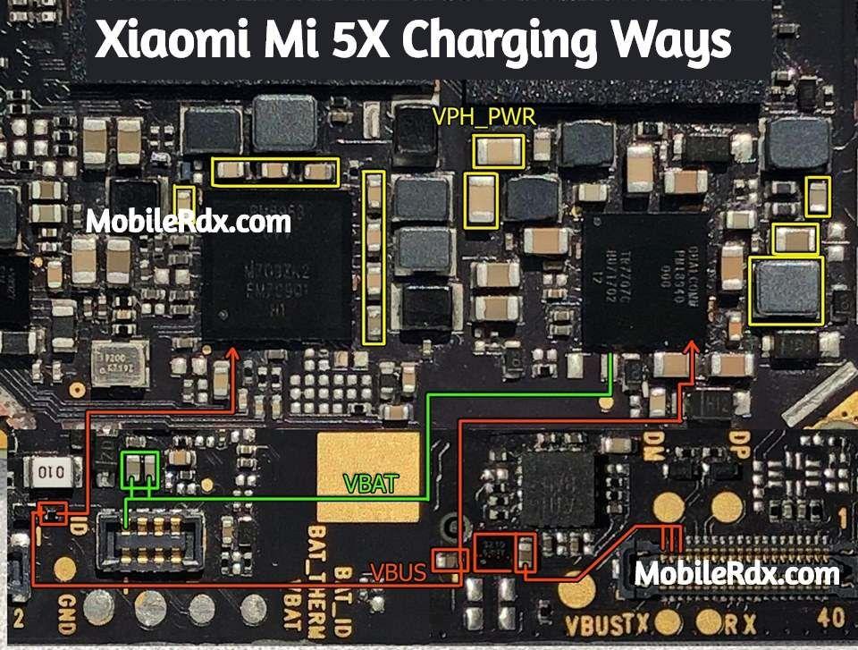 Xiaomi Mi 5x Charging Ways Not Charging Problem Solution