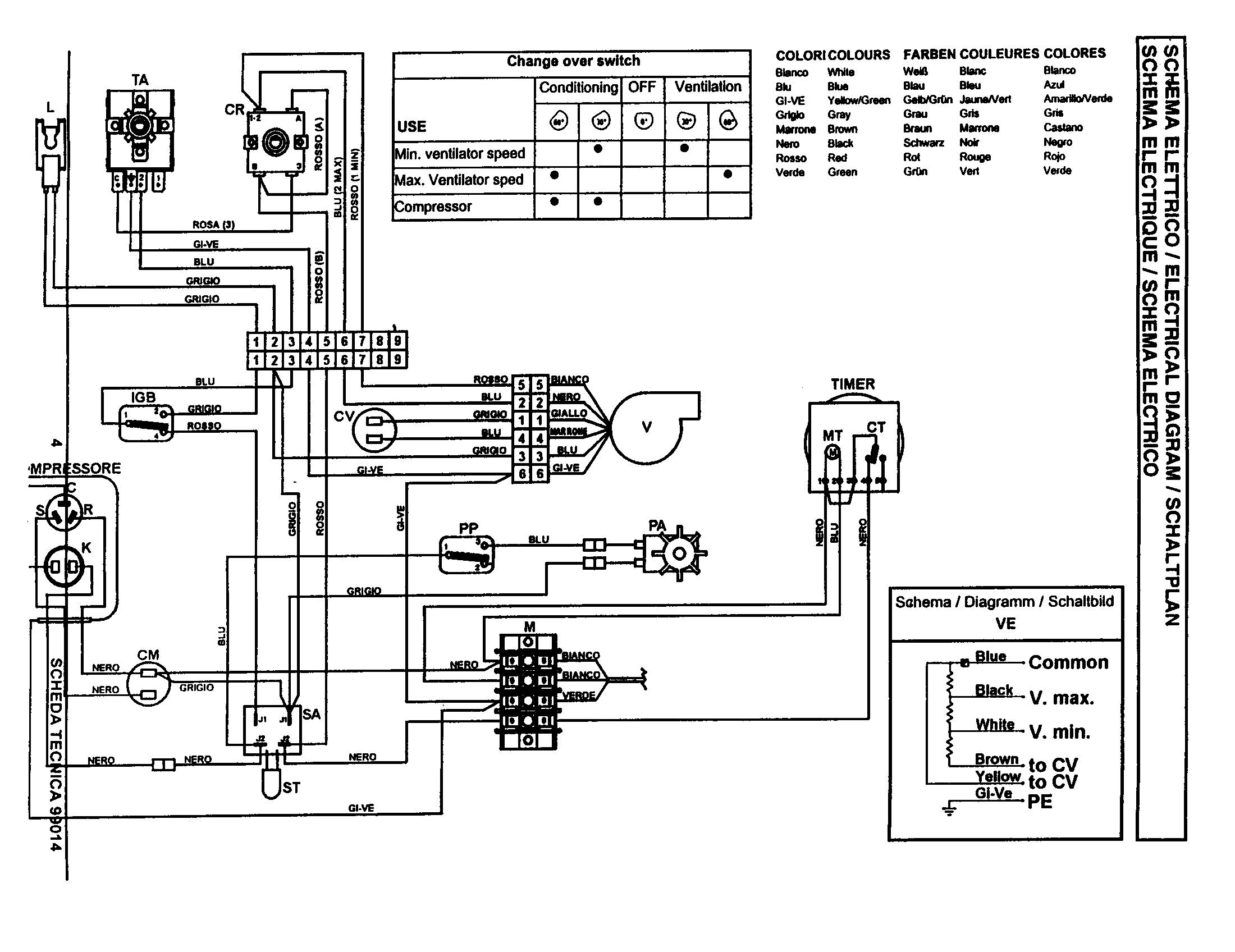 New Wiring Diagram for Air Conditioning Unit Diagram