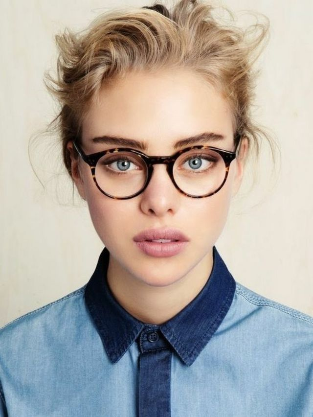 Eye wear  Brown frames for glasses  Fall in love with them See more brown frames on lookandthebeauty.com