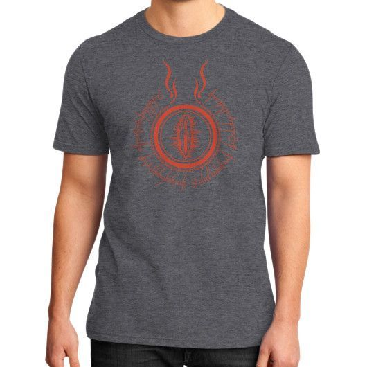 lord of rings District T-Shirt (on man)
