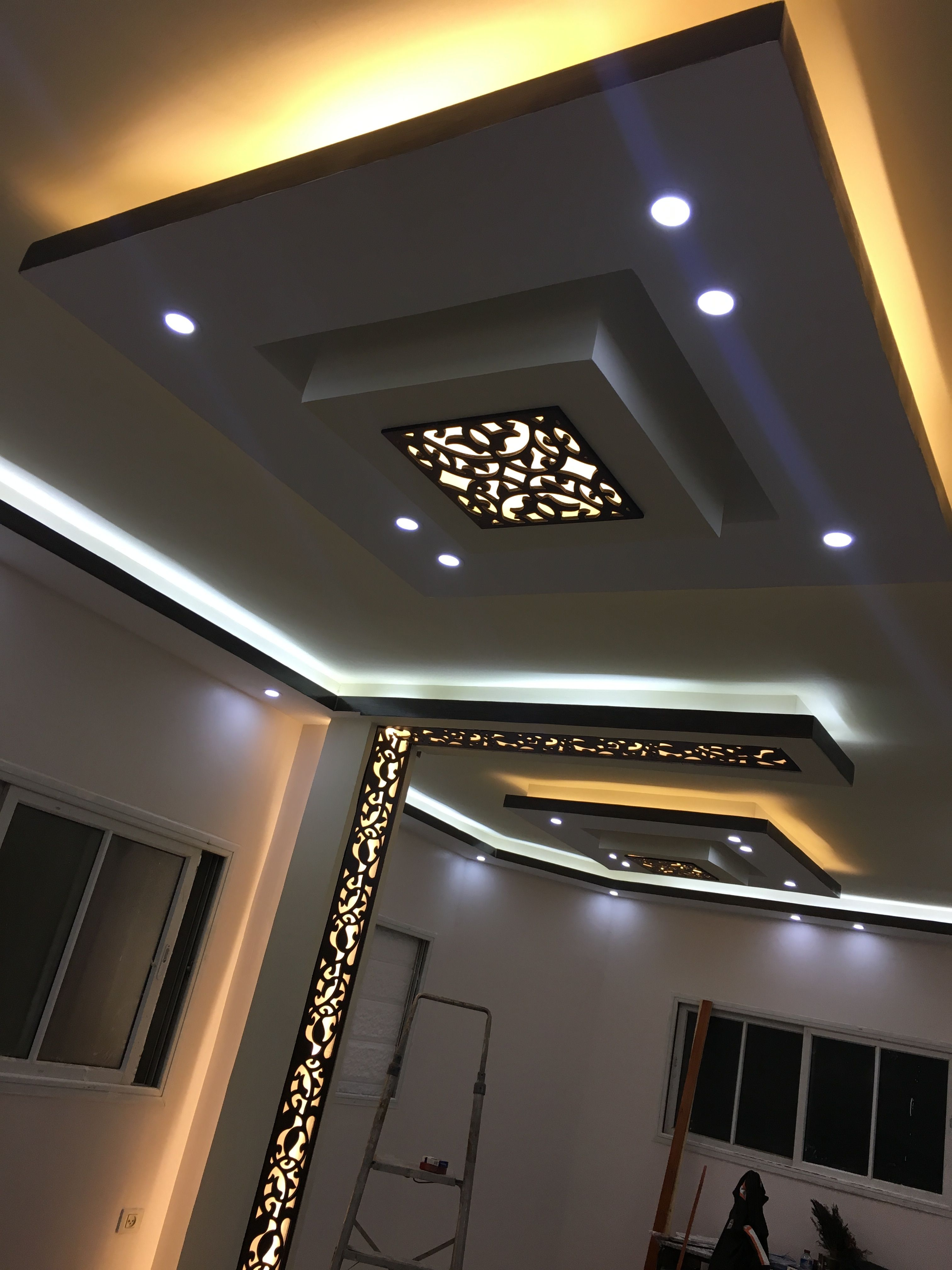 Cnc Lights Window Home Decorating Ceiling Design Ceiling Design