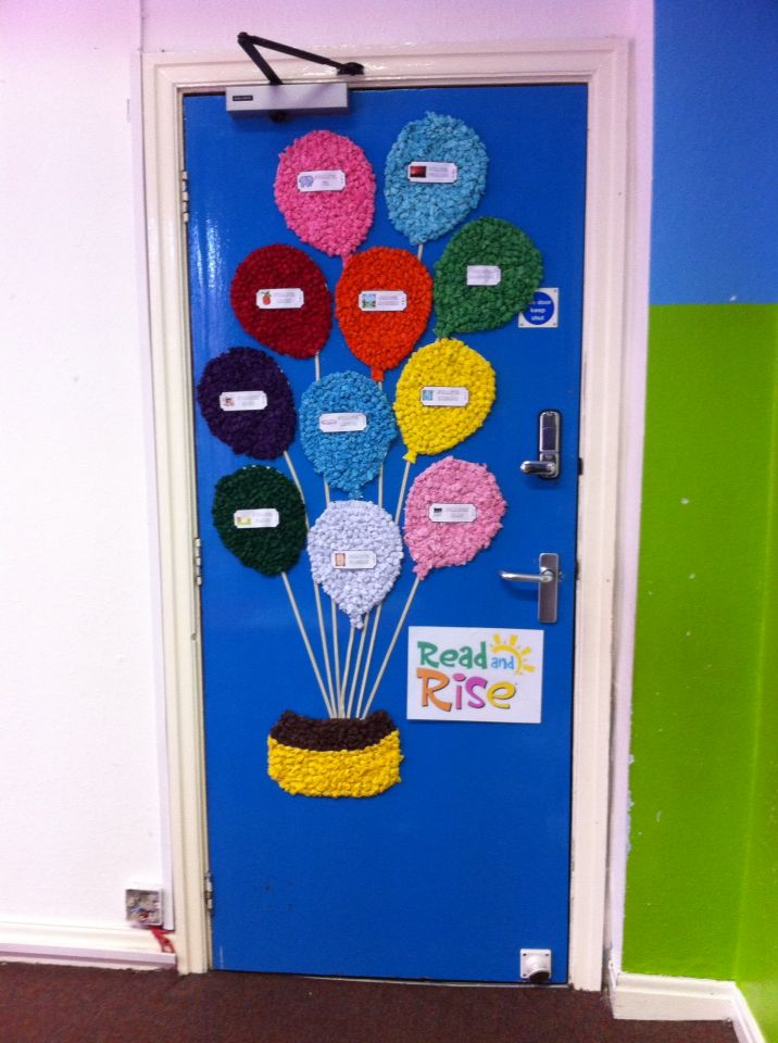 Classroom Decoration Ideas Xbox ~ Read and rise door display for my quran class