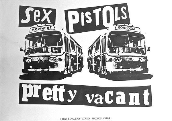 Sex pistols pretty vacant warner promo