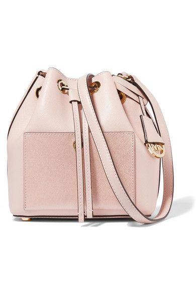 d3867c602017 Antique-rose textured-leather (Cow) Snap-fastening drawstring top Designer  color MICHAEL Michael Kors Dillon Extra Small Cross Body Bag ...