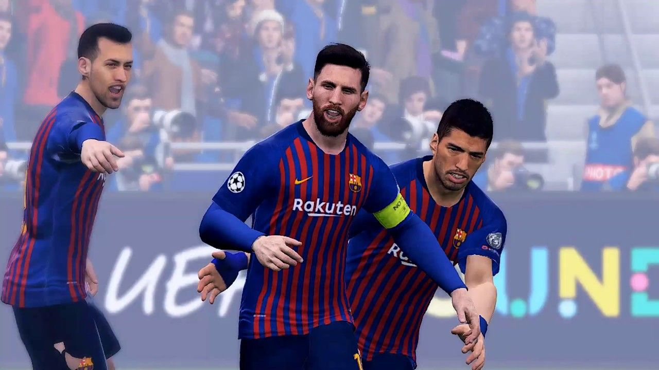 Pes 2019 Converted Patch V3 Aio 4 Pes 2017 Lyon Vs Barcelona Ucl 201 Uefa Champions League Premier League Matches Pro Evolution Soccer