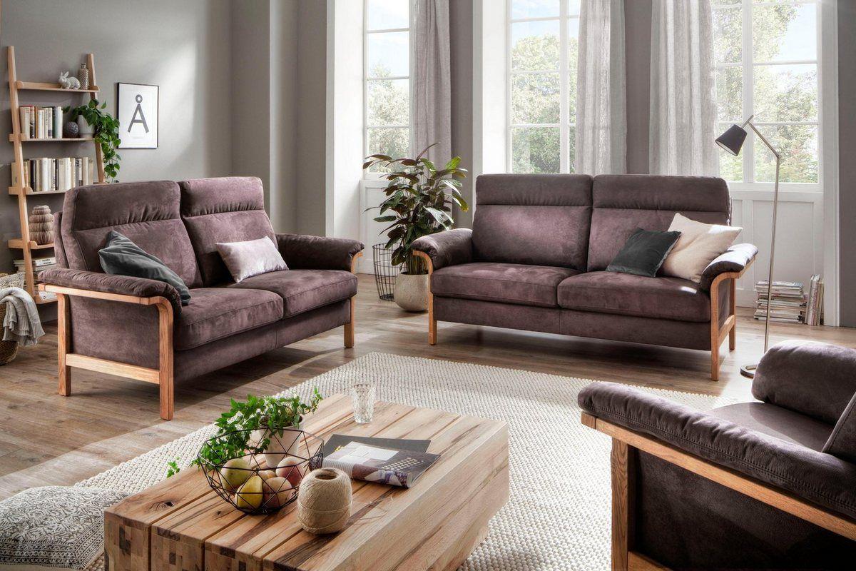 "home affaire 3-sitzer »passau«, wahlweise mit ""move"