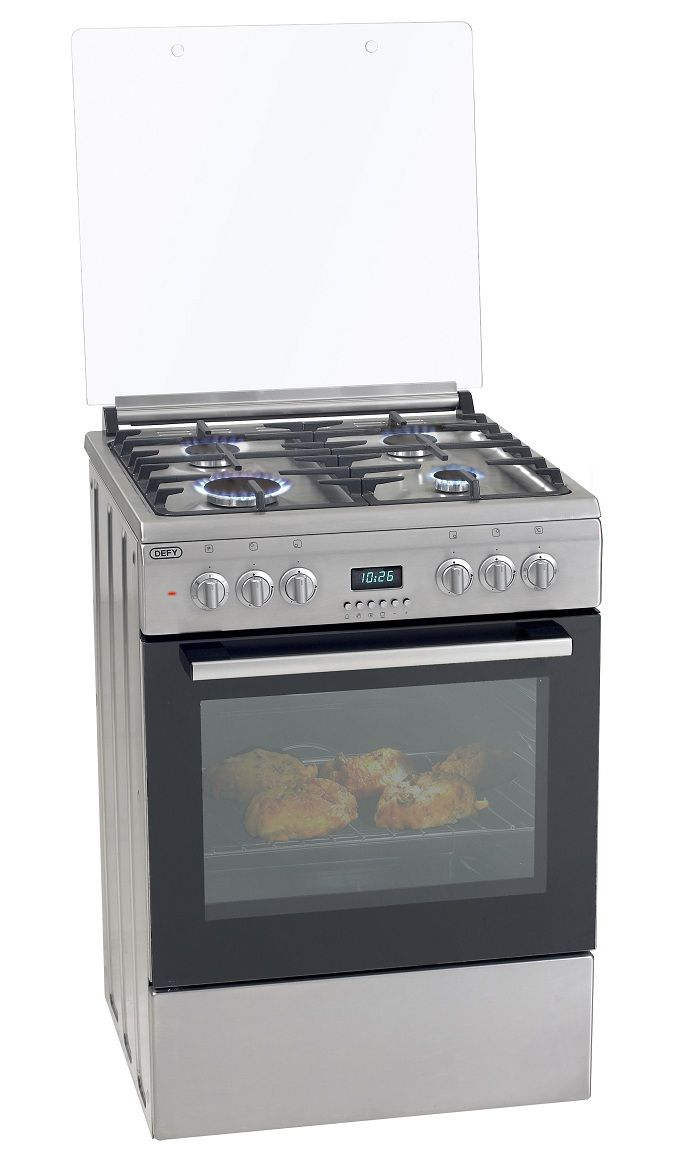 Defy 60cm Gas Electric Stainless Steel Stove Dgs160 Electric Stove Oven Appliance Stainless Steel Stove