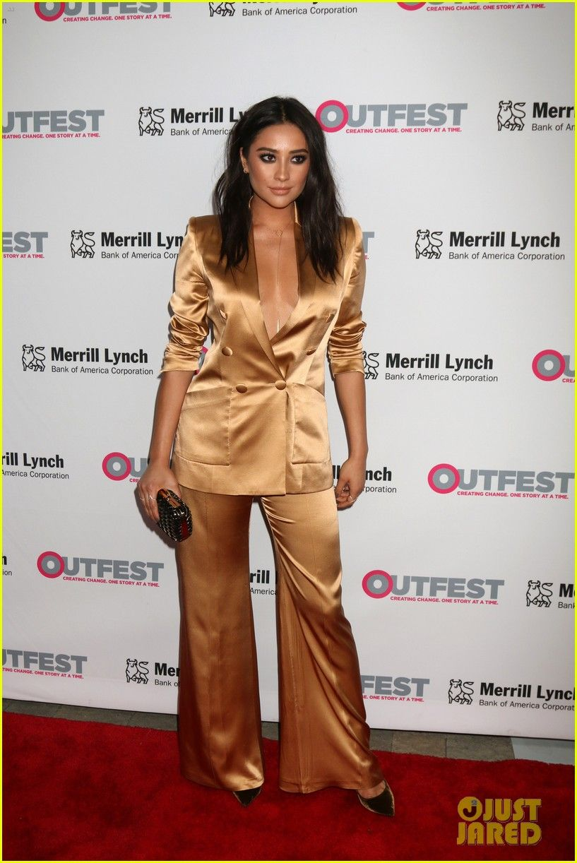 Shay Mitchell Honors Freeform at Outfest Legacy Awards 2016