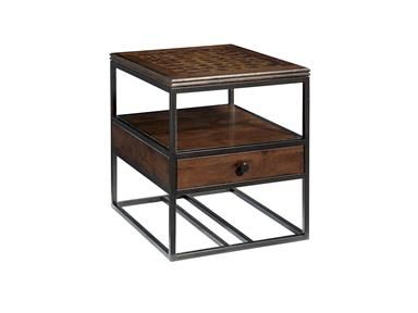 Fine Furniture Design Metal And Wood End Table 1370 970 Lindsey