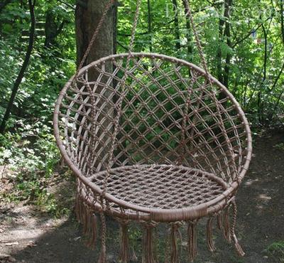 Подвесной кресло-гамак своими руками