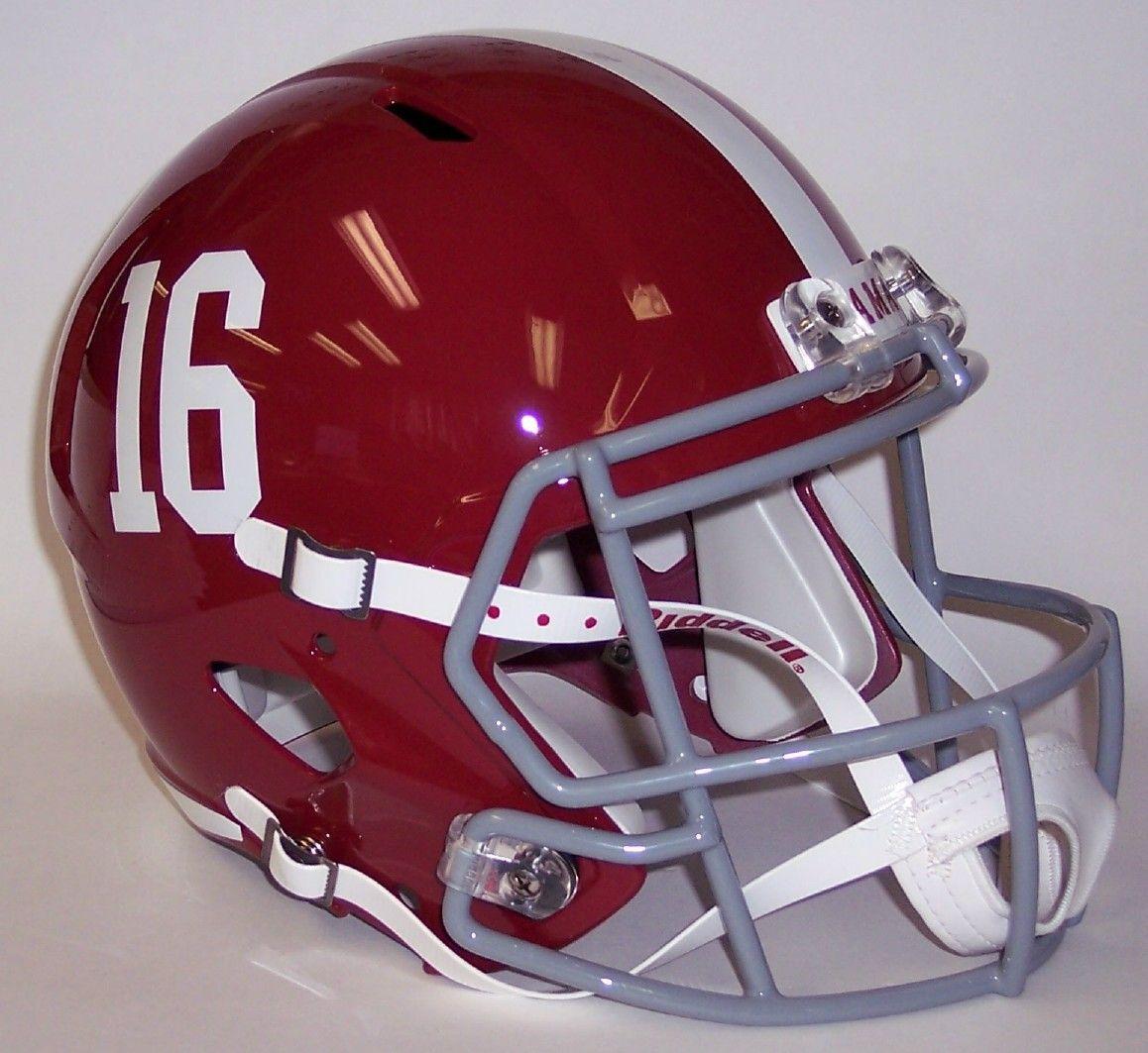 mini football helmets riddell