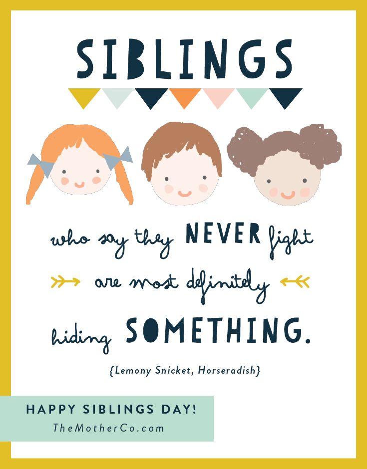 Happy National Siblings Day National Sibling Day Happy Sibling Day Happy