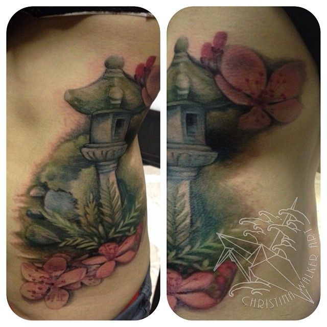 Watercolor Bamboo Tattoo: Tattoos By Christina Walker