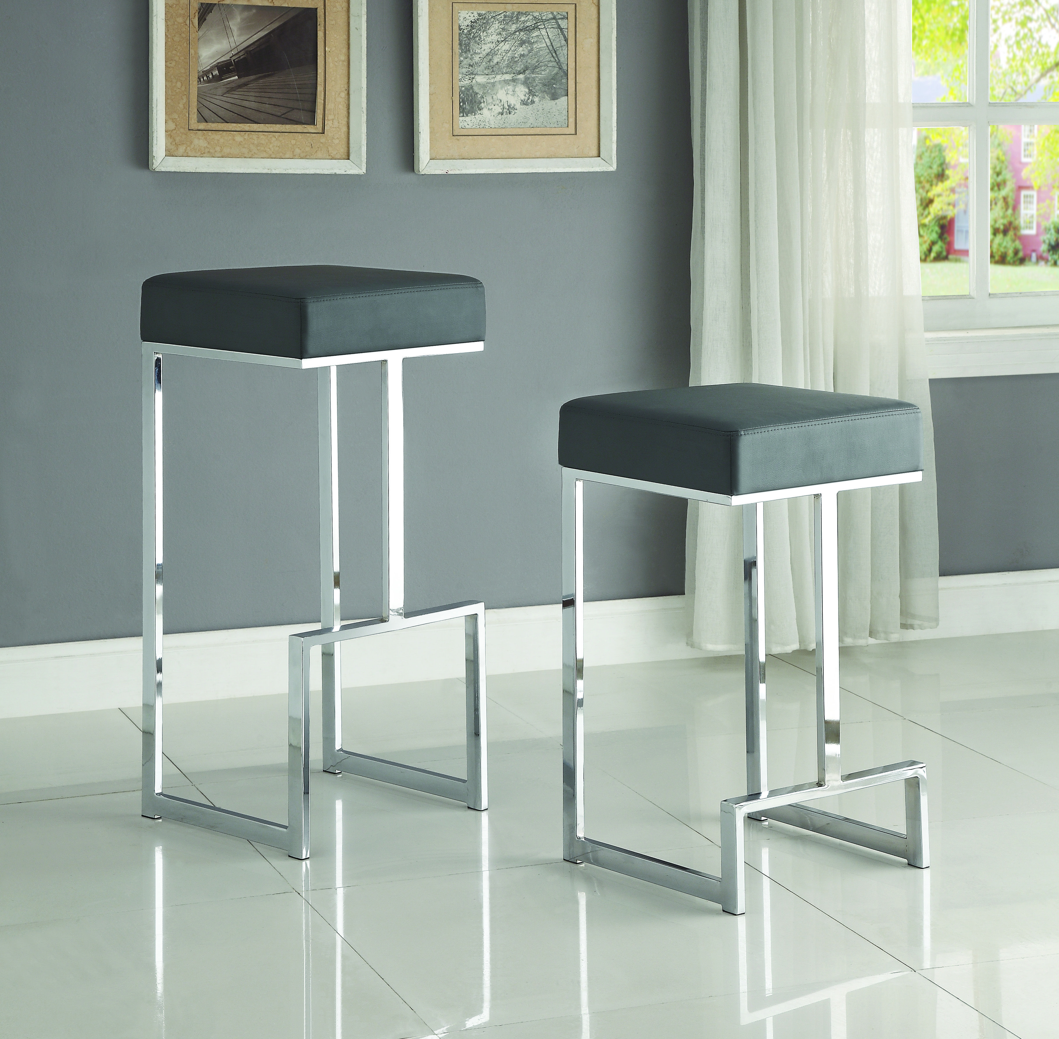Coaster Dining Chairs and Bar Stools Contemporary Counter Height ...